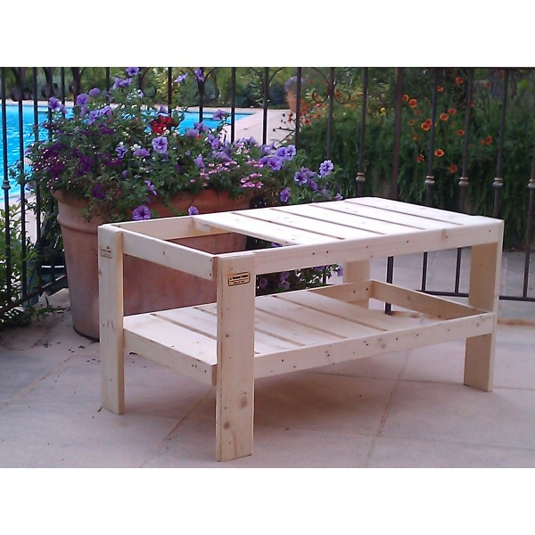 Table Basse (Salon ou Jardin) - La Menuiserie Solidaire
